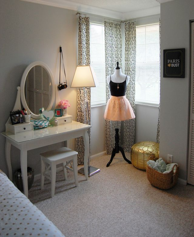 The Smitten Collection, teen girl bedroom.