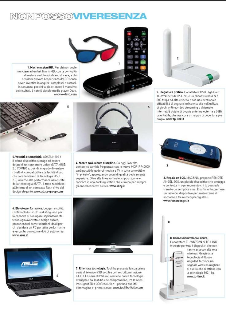 """Pocket - Febbraio 2011  """"Mac propone Remote Angel SOS, un piccolo dispositivo che protegge e controlla in ogni momento chi lo possiede tramite un semplice sms.""""  http://remoteangel.it/php/ra_sos.php"""