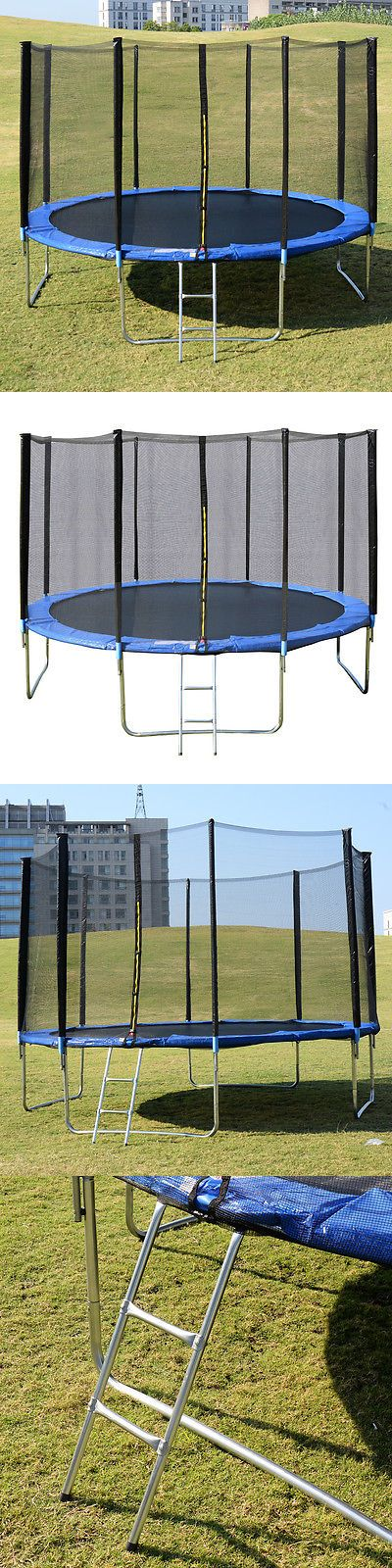 Trampolines 145999: New 14Ft Trampoline Combo Bounce Jump Safety Enclosure Net W Spring Pad Ladder -> BUY IT NOW ONLY: $279.99 on eBay!