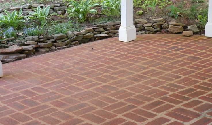 17 best ideas about painted cement patio on