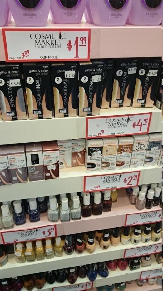 Goedkoop make-up shoppen in New York City! Cheap shopping in New York City  #nyc #makeup #nailpolish