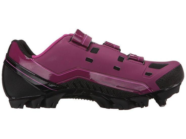 Louis Garneau Sapphire Women's Cycling Shoes Magenta Purple #cyclingshoes
