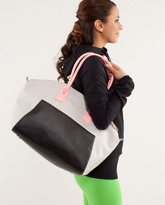G - If I ever have a baby and if you ever throw me a baby shower, please buy me this lulu bag as a shower gift/diaper bag