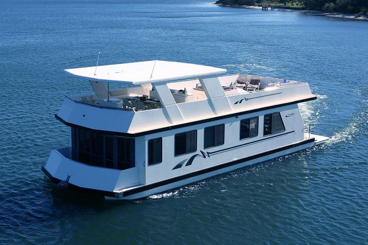 Aegean 60 Spa Boat Sleeps 12 #houseboat #GoldCoast #Holiday