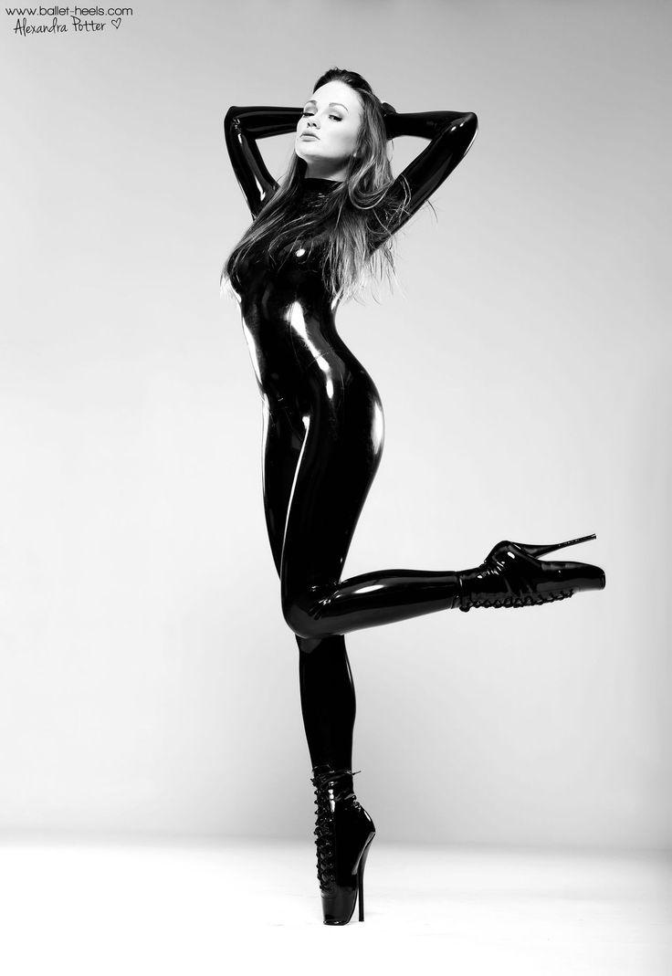 Latexitaly   Ballet boots, Alexandra potter, Ballet heels