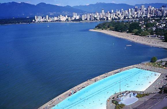 Kitsilano Pool Vancouver BC - 137 meters long.