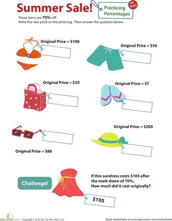 Shopping Math Printable Worksheets - functional math worksheets ...