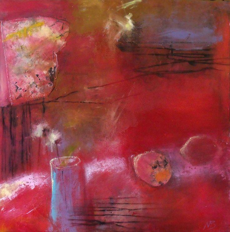 """Le jardin de l'implicite"" acrylic on canvas www.michelebedard.me"