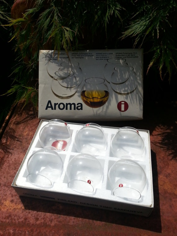 Timo Sarpaneva design for Iittala Aromilasit by fcollectables, €65.00