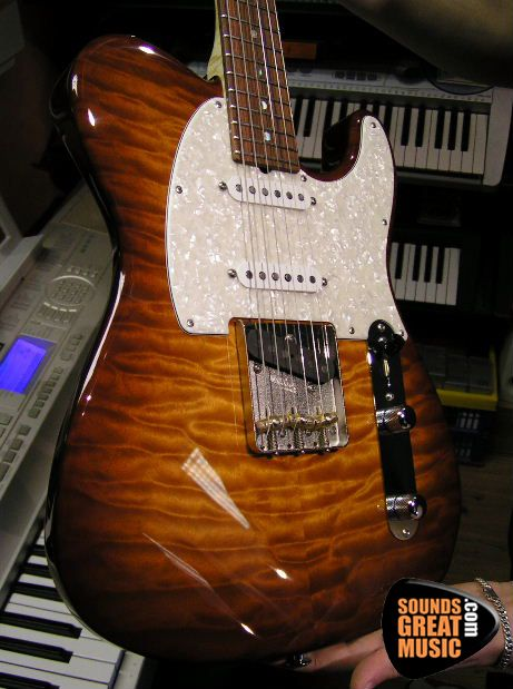Custom ordered Suhr guitar for Sounds Great Music