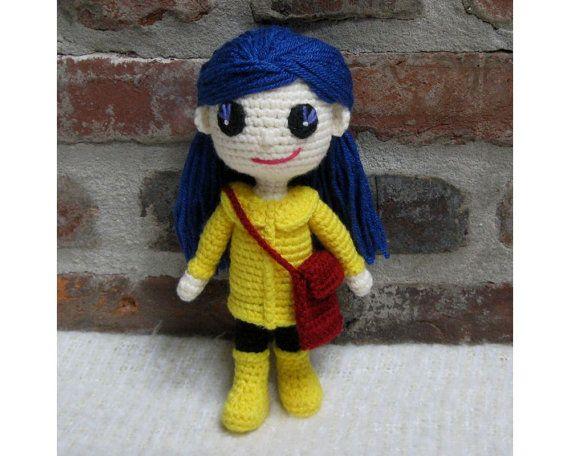 Coraline  Amigurumi  Crochet Doll finished  by CrochetCuteDolls