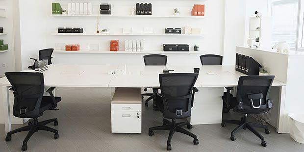 おしゃれなオフィス家具の写真