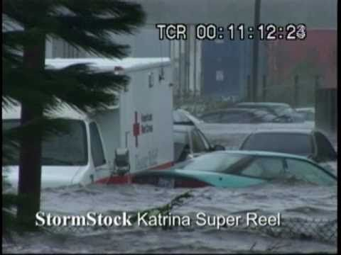 Hurricane Katrina Video - All hell breaks loose as Hurricane Katrina mak...