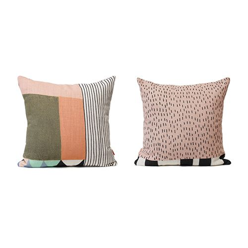 Canyon 50cm High Quality Linen Cushion Collab from Lisa Lapointe / Sparkk  Available at www.willowshometraders.com.au