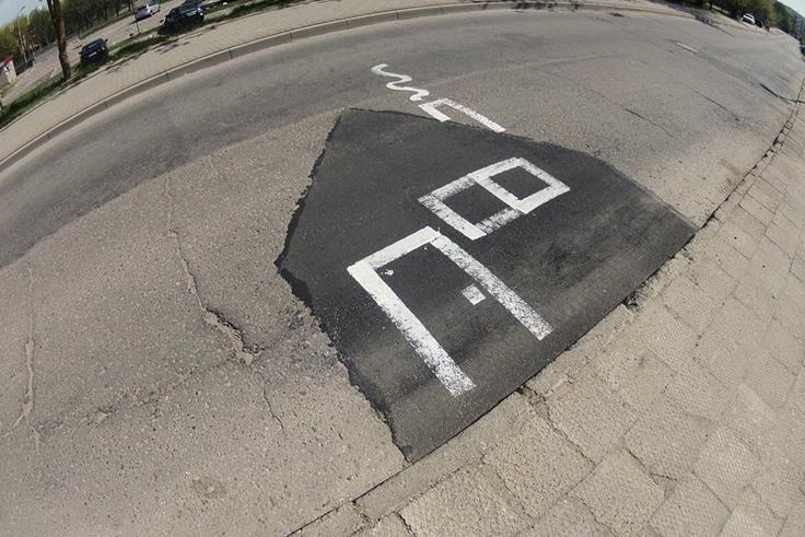 Street Art in Olsztyn, Poland. By Adam Łokuciejewski