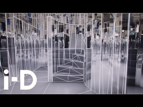 Enter the Mirror Maze, Es Devlin's video sculpture, presented by The Fifth Sense - YouTube