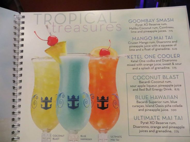 Royal Caribbean Mix Drinks Prices Royal Caribbean In