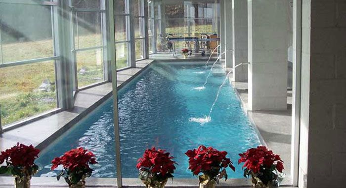 17 best images about luxury outdoor pool design on pinterest for How to build an indoor pool