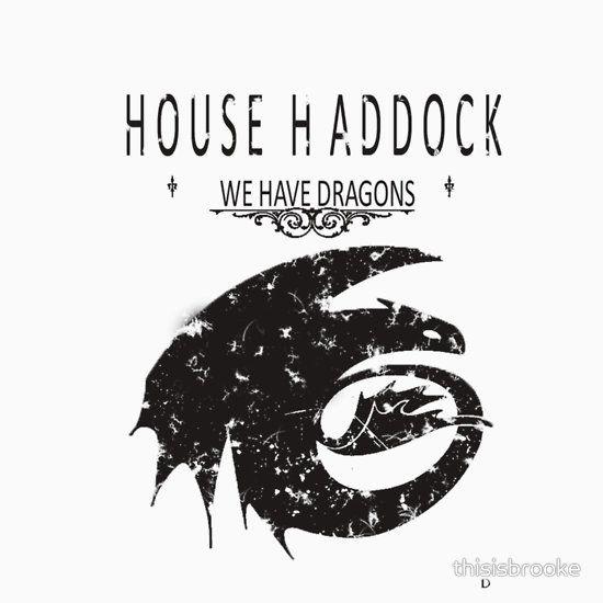 "HTTYD ""House Haddock"" Graphic Tee"