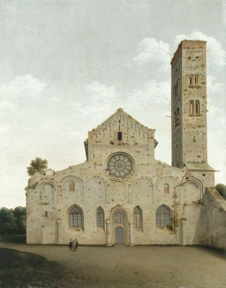 The West Façade of the Church of Saint Mary in Utrecht - Pieter Jansz. Saenredam (1662) | Museo Thyssen