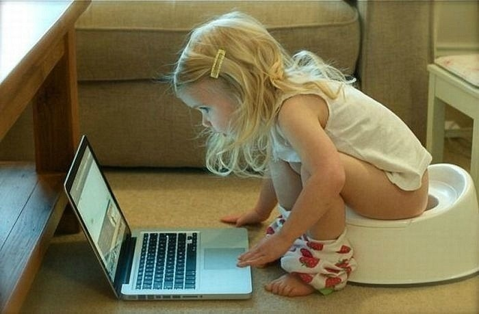I can do a lot of things at the same time...: Modern Baby, Hilarious Quotes, Little Girls, Funny Pics, Geek Girls, Grand Kids, Funny Girls, Baby Girls, Smart Girls