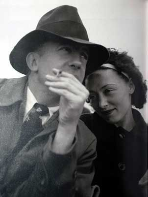 Nusch & Paul Eluard - Photo by Lee Miller - #O.Lettera-Ti @LibriamoTutti
