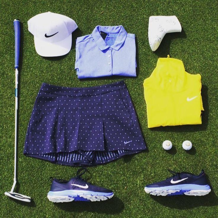 Incredbly Ladies' Nike Golf collection – golf fashion for women. Nike shirt, Nike shor