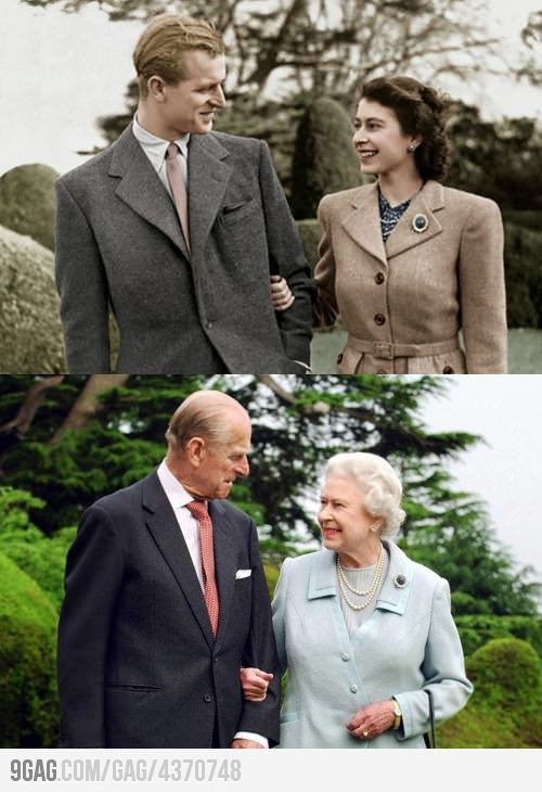 Queen Elizabeth and Prince Philip after 65 years of
