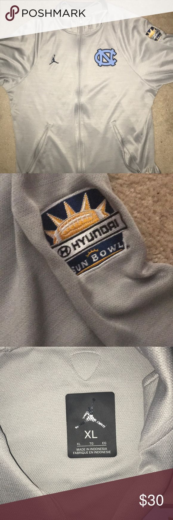 UNC Football Mens Jacket (Sun Bowl) UNC Football Mens Jordan Jacket XL Straight from the bowl game Jordan Jackets & Coats Lightweight & Shirt Jackets