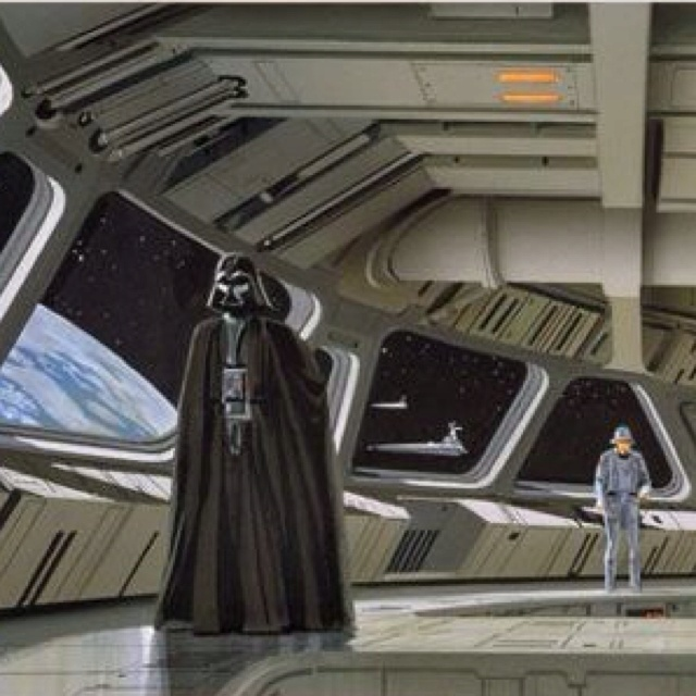 Ralph McQuarrie sketches for star wars