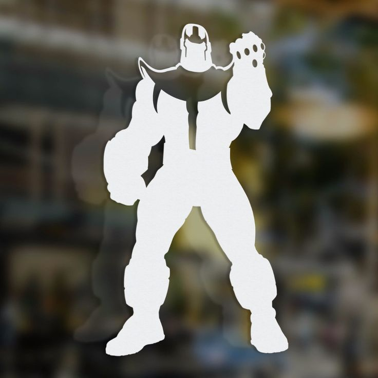 Thanos Power of the Stones Decal