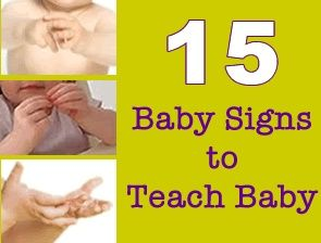 Baby signing....such a good idea :)