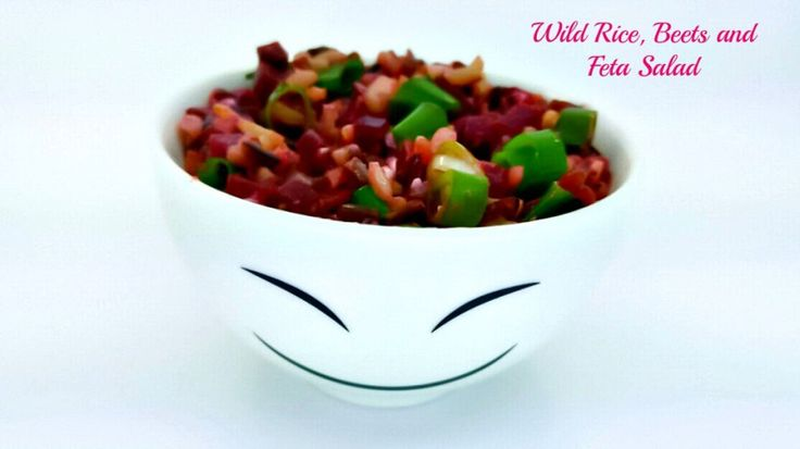 Wild rice,Beetroot and Feta Cheese Salad