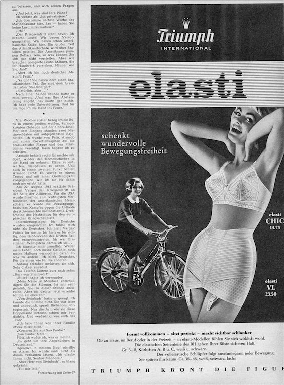 WOW! An advert over 50 years old! Now that's vintage! #Triumph #lingerie