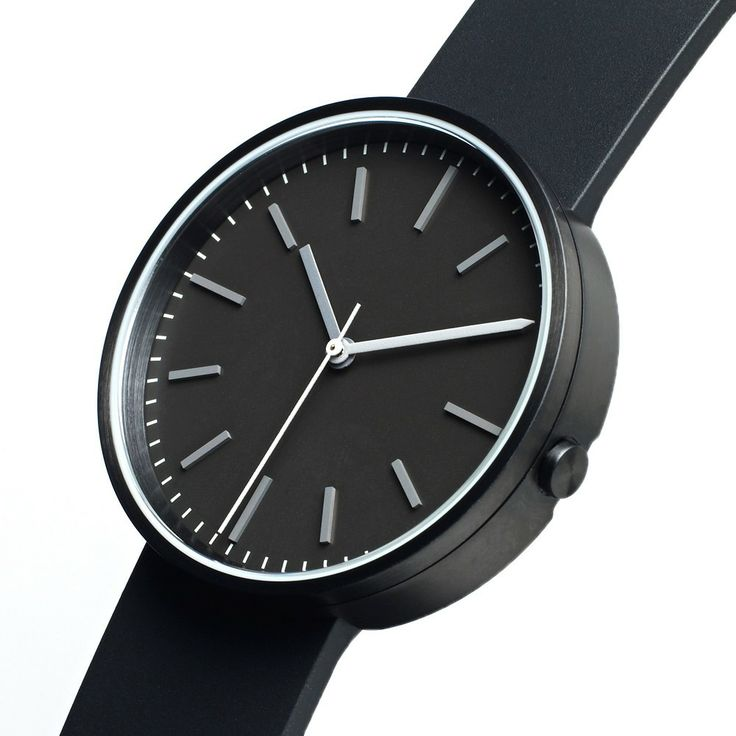 Uniform Wares 104 Series Wristwatch (Process Black & Black)