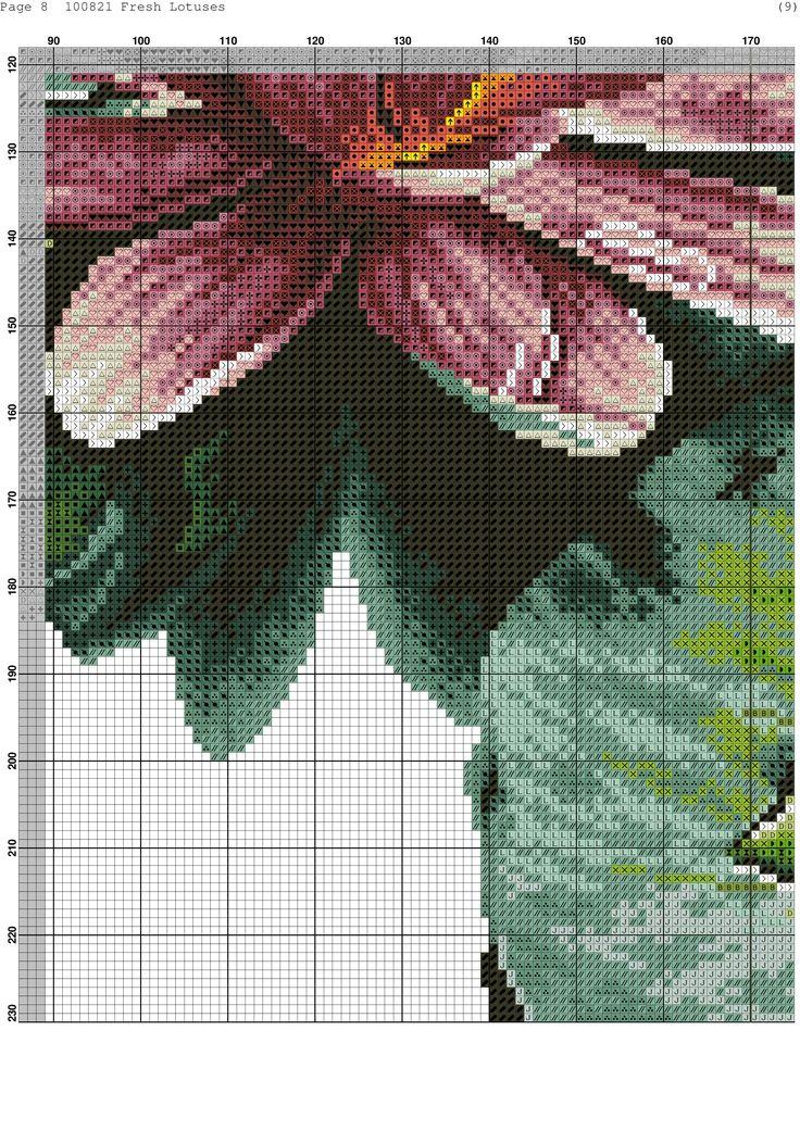 Cross-stitch patterns - Borduur patronen (9)