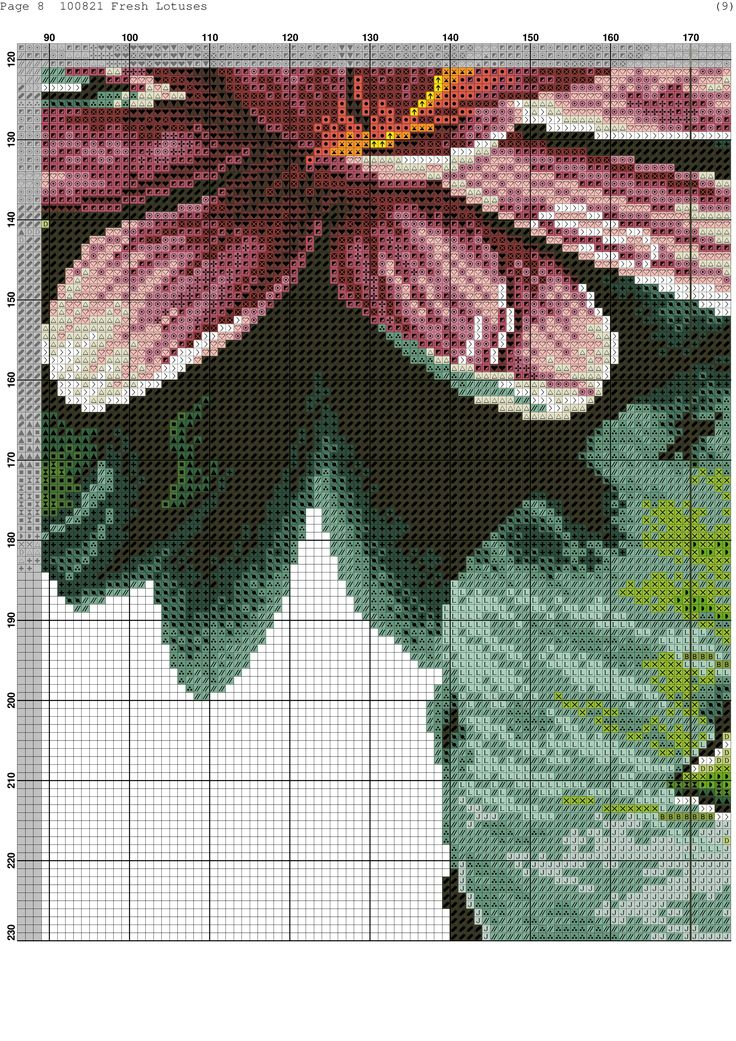 Cross-stitch patterns - Borduur patronen (9)