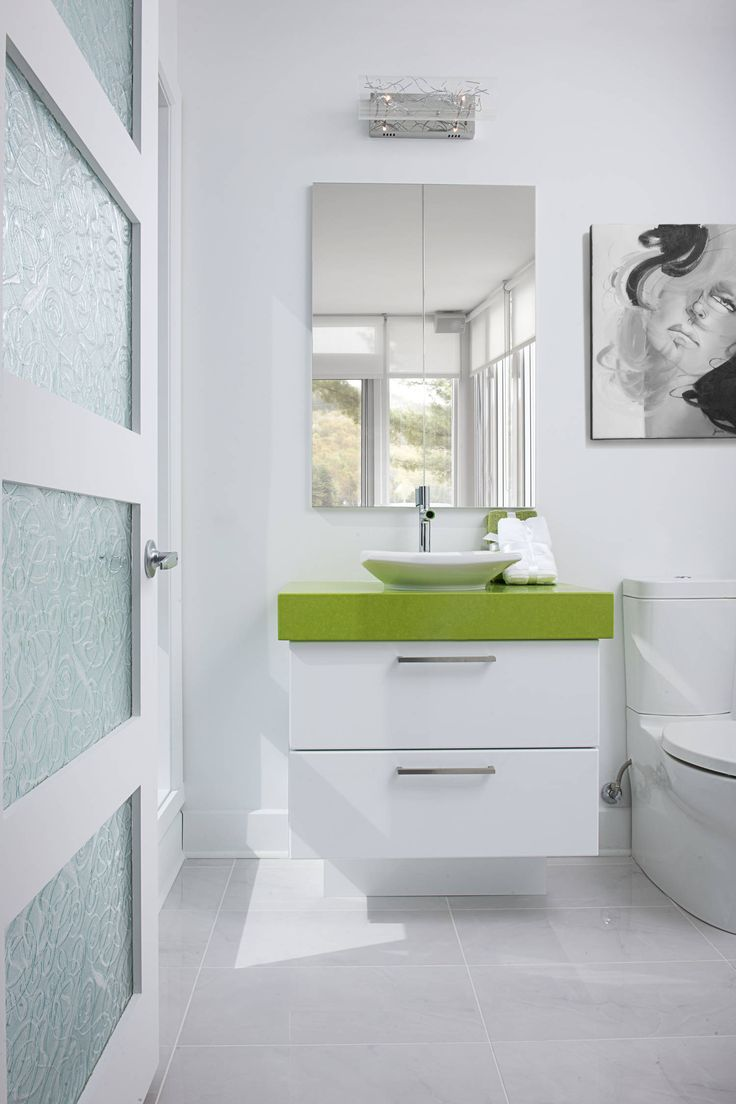 Flottante vanité de salle de bain en mélamine collection : les ...