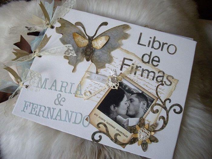 increibles libros de firmas para bodas ideas asombrosas