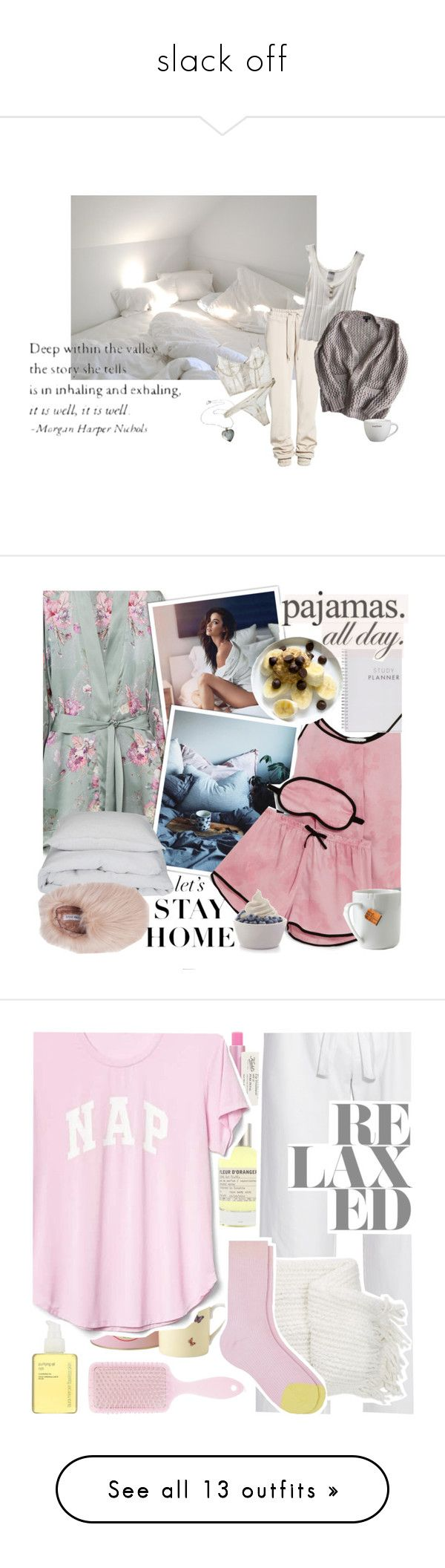 """""""slack off"""" by sallyloreto ❤ liked on Polyvore featuring Ivy Park, Chanel, Topshop, Meng, DKNY, By Nord, Muku, WALL, le mouton noir & co. and Disney"""