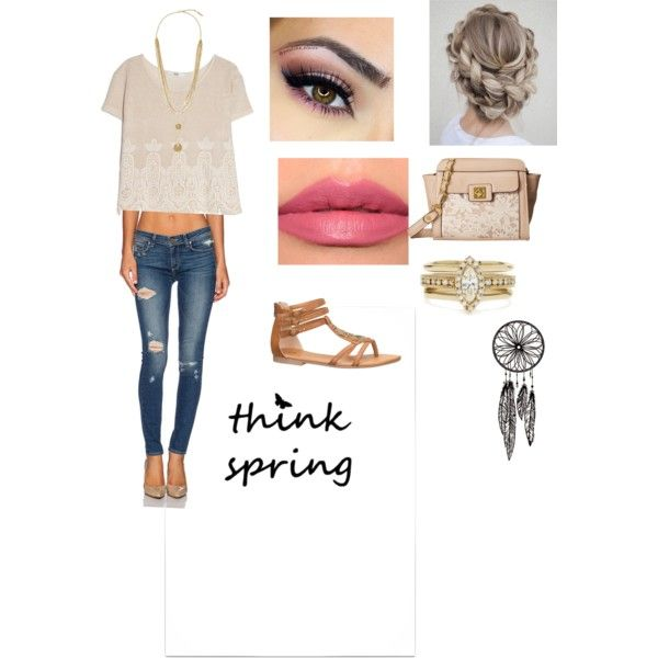 Going out ? by veronicacastillo901 on Polyvore featuring polyvore fashion style MANGO Paige ...