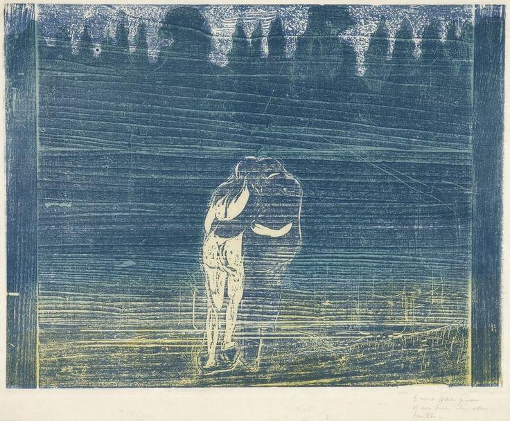 17 Best Images About Munch Woodcut Prints On Pinterest