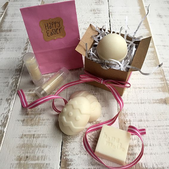 {Non-Edible} Easter Gift Recipes for the Thermomix: Solid Body Lotion, Blissful Bath Soaks, Solid Perfume Balm & Fizz Balls