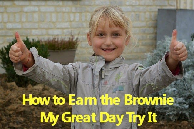 How to Earn Brownie Badges and Try Its: How to Earn the My Great Day Badge (It's Your Plan...