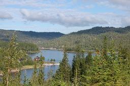 Mountain cabin in Norway. https://www.inatur.no/hytte/525f9f3de4b03e16a84a392d/nordsjostua-ypperlig-beliggende-for-jakt-fiske-og-fotturer    Inatur.no