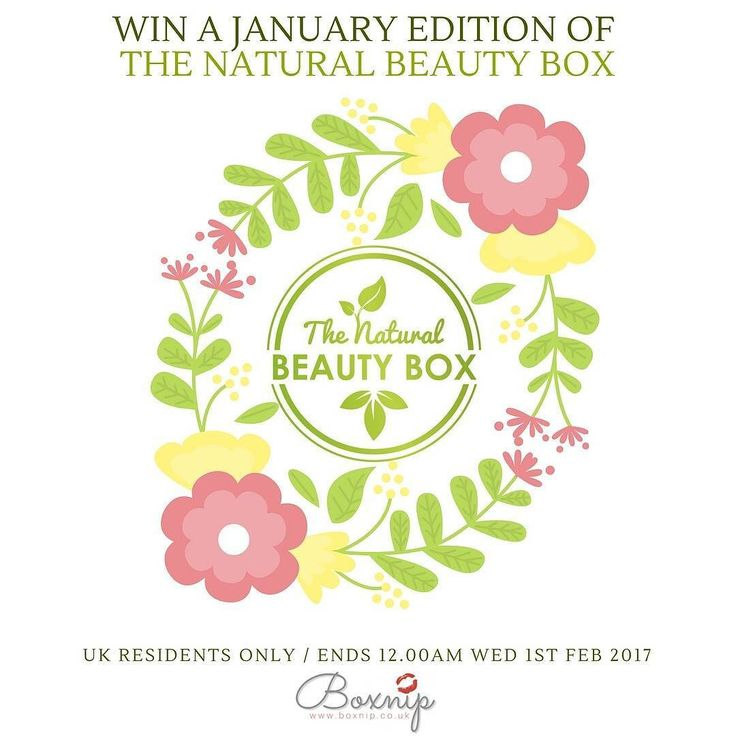 WIN A JANUARY EDITION OF THE NATURAL BEAUTY BOX - UK ONLY . In collaboration with Emma of @nat_beauty_box I will be kicking off January with a Giveaway to win a January edition of The Natural Beauty Box - a new natural organic and cruelty free beauty subscription box - as she has very generously donated an edition of the very first January box.  . . TO ENTER Follow or be following both @boxnip  AND @nat_beauty_box accounts and repost this image tag BOTH accounts in the image and use the…