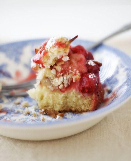 cherry streusel coffee cake   r a i s e d . o n . c o u n t r y . s u ...