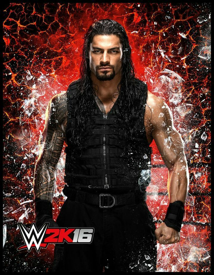 Roman Reigns WWE 2K16:  I LOVE this man