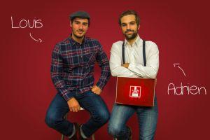 Deux diplômés de SKEMA Business School se lancent à la conquête de Paris avec leur #startup « Louis et Adrien »