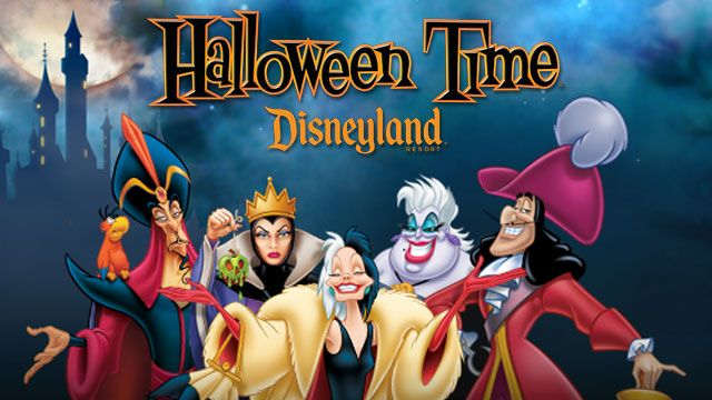 Oh my gosh, I don't know why I haven't ever thought of this before. But do you get to see villains at Disneyland more during Halloween time than normal? If so, I need to start planning a trip for this year NOW.